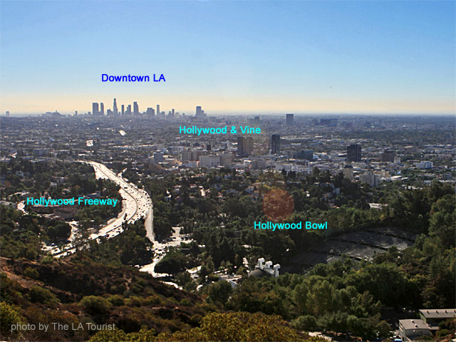Hollywood Bowl Overlook on Mulholland Drive