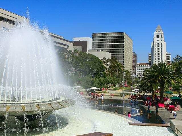 Grand Park in Downtown L.A.