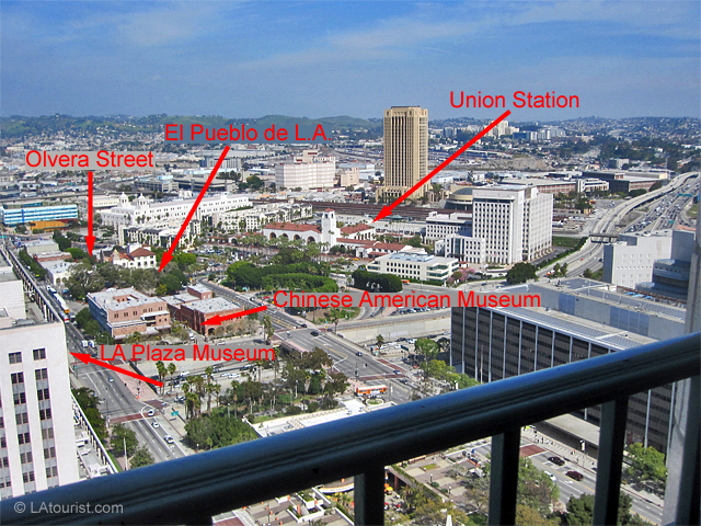 View from the Observation Deck at City Hall - The LA Tourist