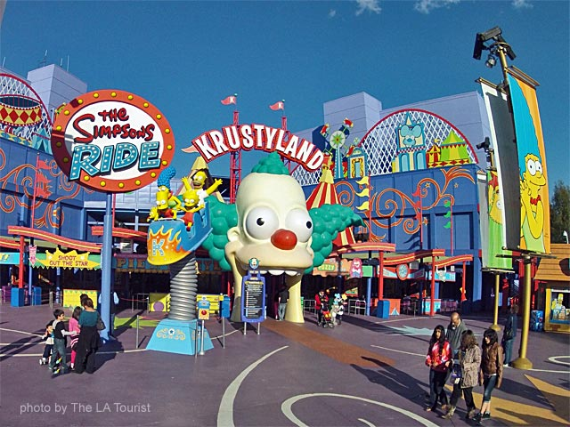 Krustyland at Universal Studios, Hollywood