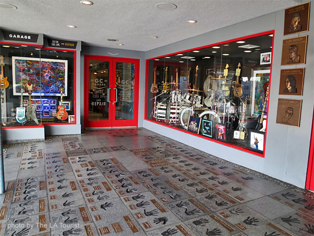 Hollywood Rockwalk at The Guitar Center on the Sunset Strip in West Hollywood